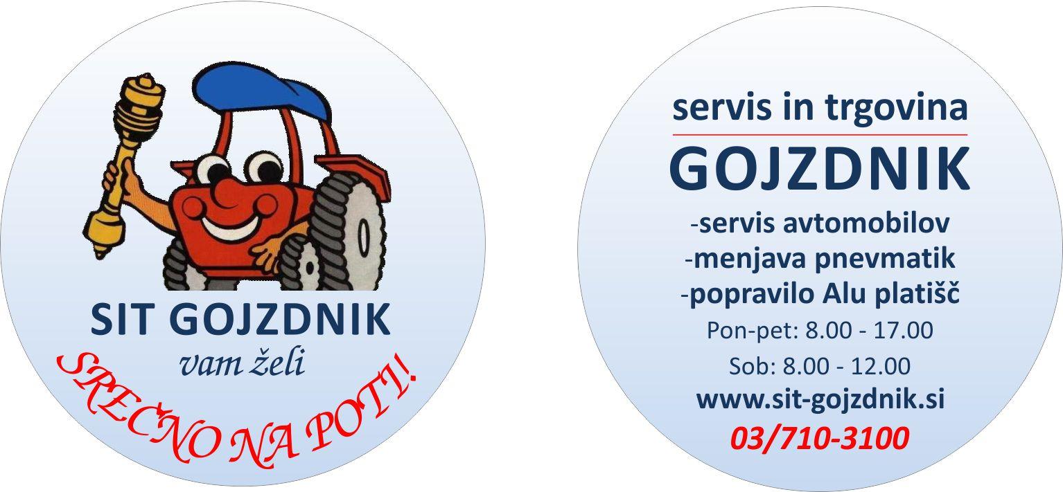 Sit Gojzdnik reklamni osvežilec