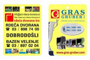 Gras Gruber reklamni osvežilec