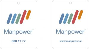 Manpower reklamni osvežilec