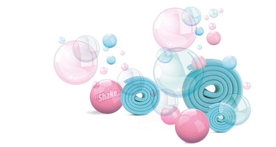 Bubble gum Shake osvezilec za avto