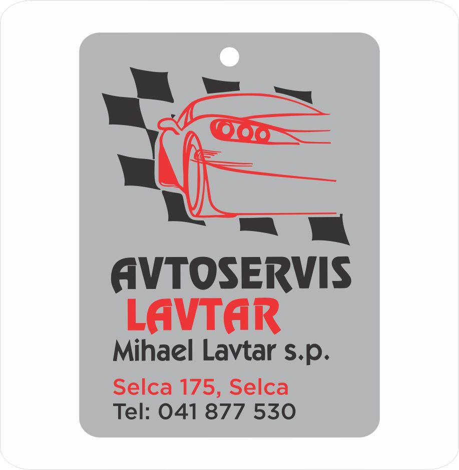 Avtoservis  Lavtar reklamni osvežilec