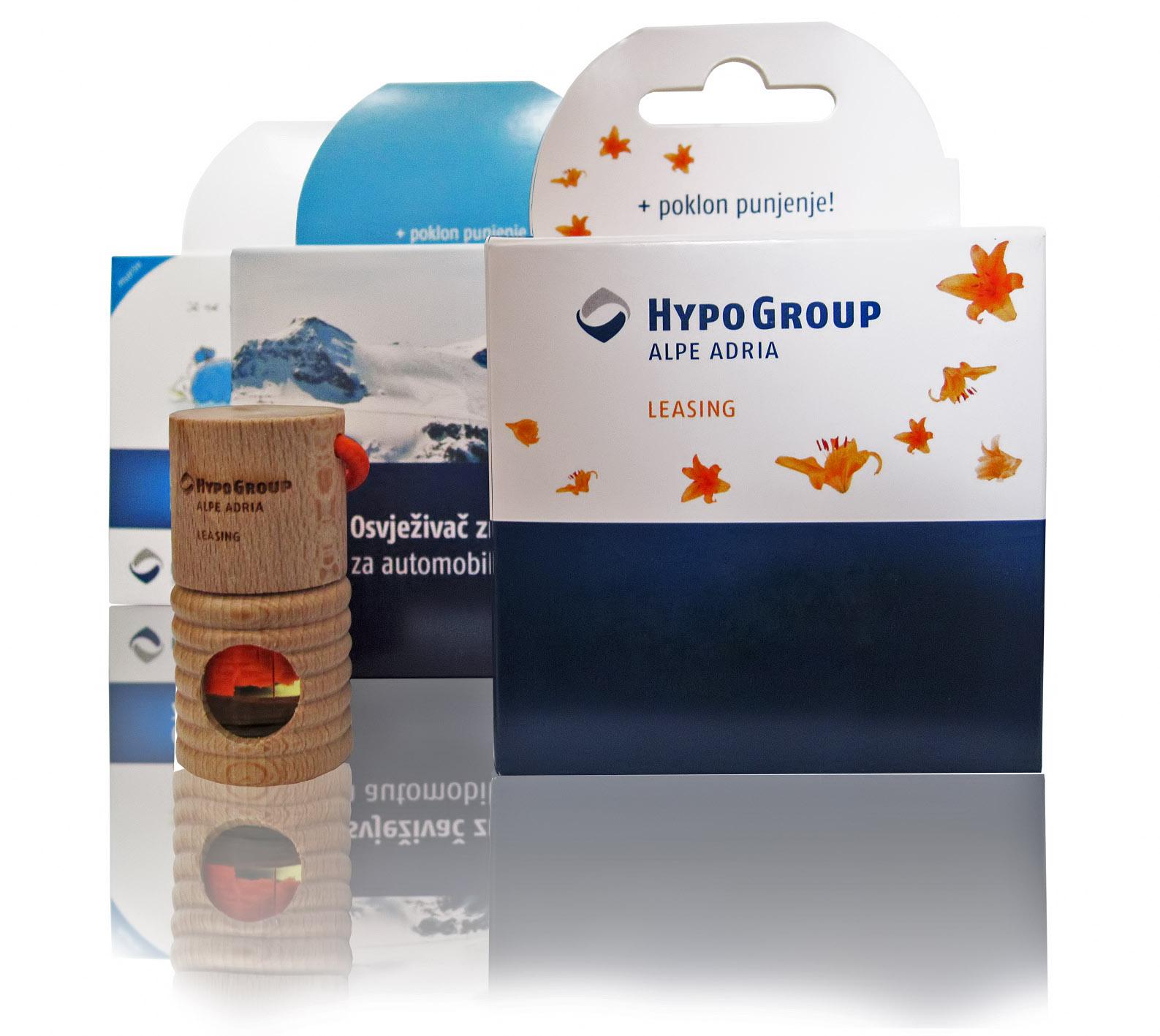 Hypo-Group reklamni osvežilec Shake
